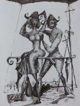 die Muse küsst ... Carne Phallus