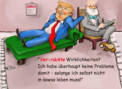 Karikatur Trump